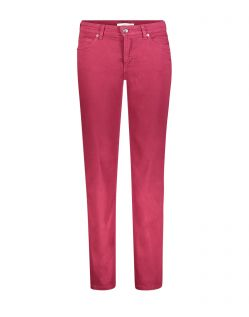 Mac Melanie - Slim Fit Jeans in roter Waschung