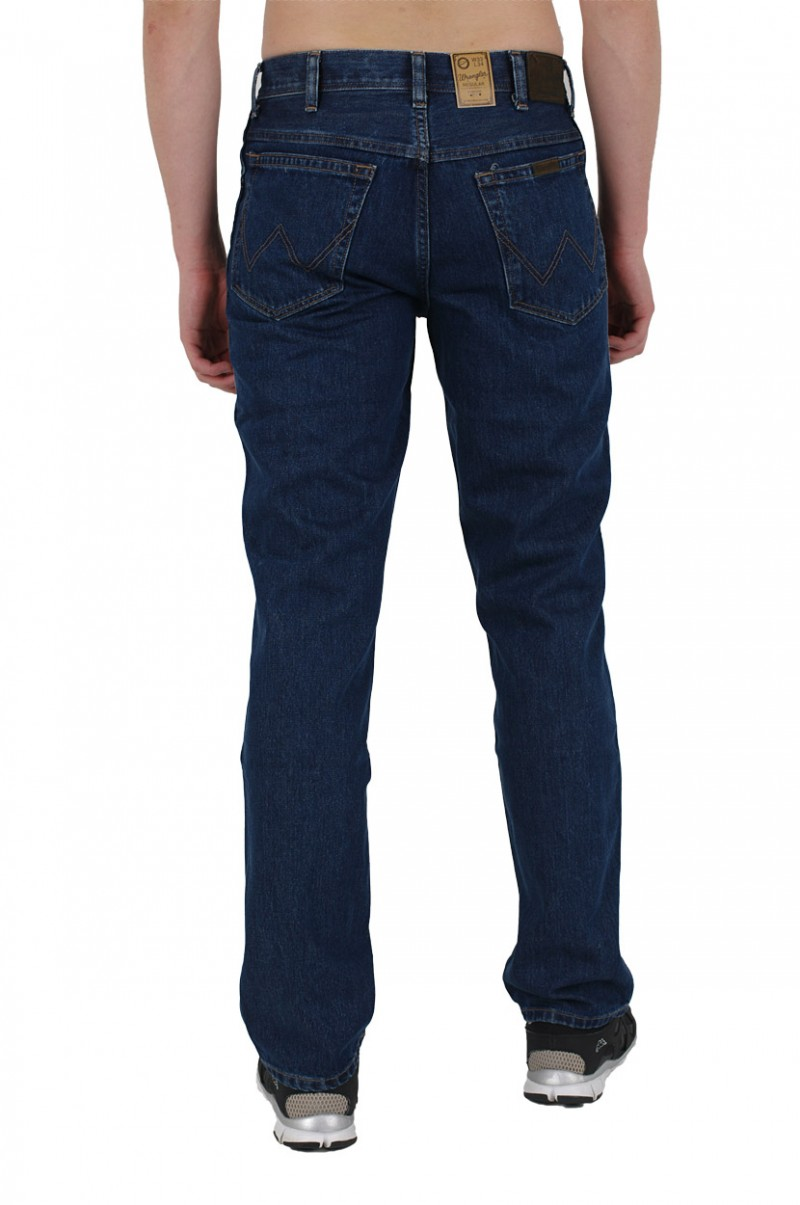 Wrangler Regular Fit Jeans - Darkstone