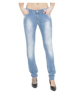GARCIA RIVA Jeans - Slim Leg - Light Blue Vintage