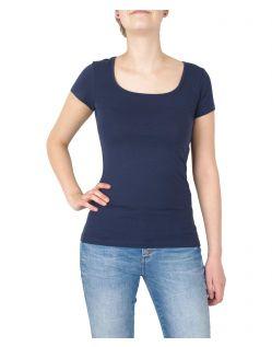 Vero Moda Maxi - kurzärmliges T-Shirt mit U-Ausschnitt