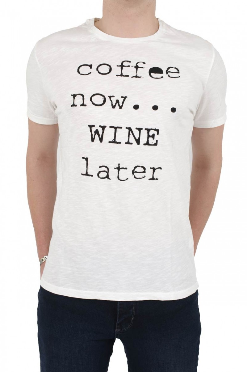 LTB  Wineys T-Shirt - Statement - White v