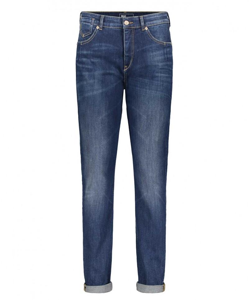 MAC Girlfriend Jeans - Loose Fit - Dark Blue