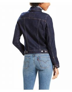 Levi's Jeansjacke - Original Trucker - Even Rinse - Hinten