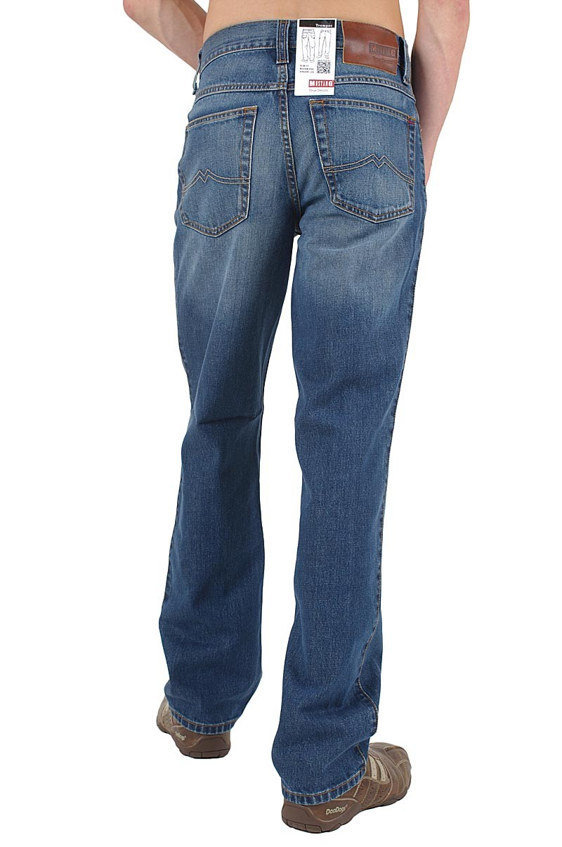 Mustang Tramper Jeans dark scratched used