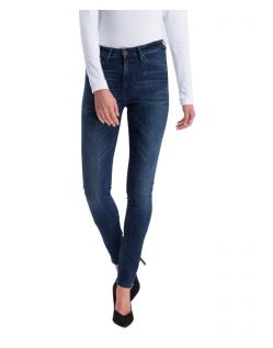Cross Jeans Natalia - High Waisted Skinny in Deep Blue Waschung
