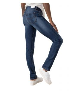 HIS MONROE Jeans - Skinny Fit - Advanced medium Blue - Hinten