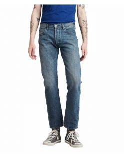 Levi's 501 Herren Straight Jeans in heller Indigo Waschung