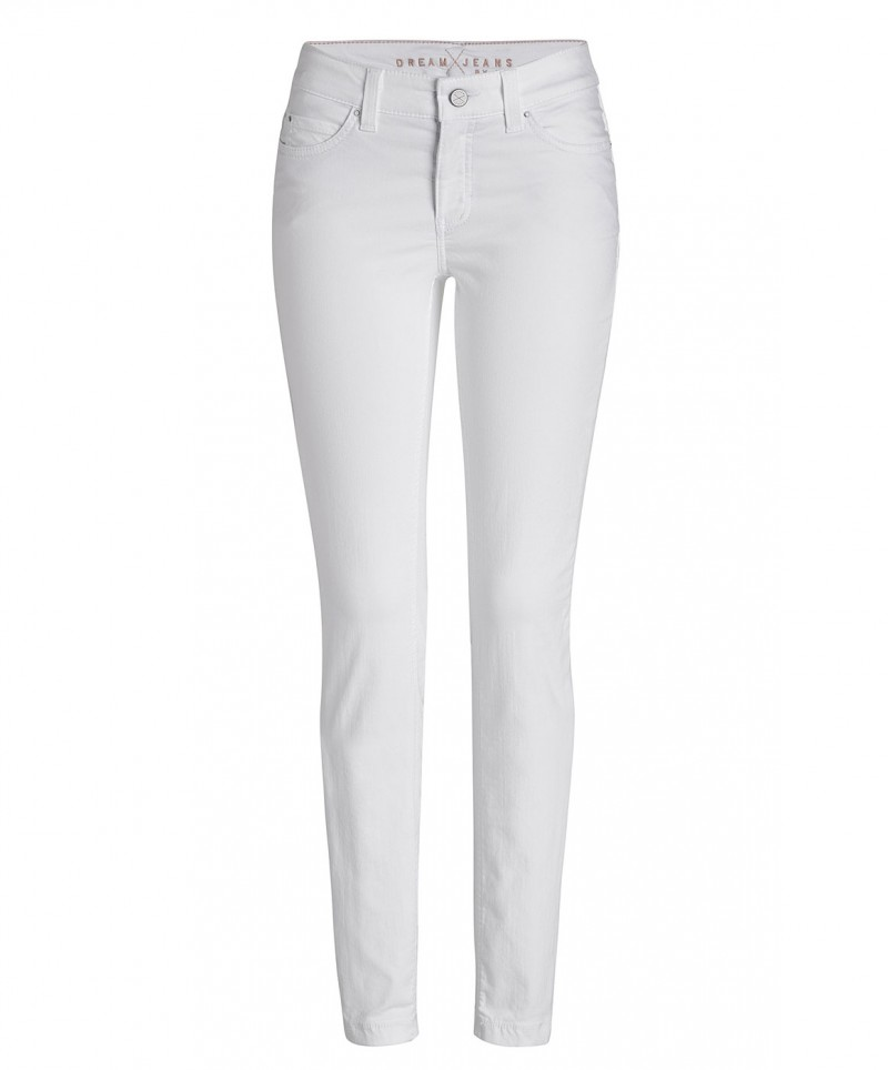 MAC DREAM SKINNY Jeans white denim