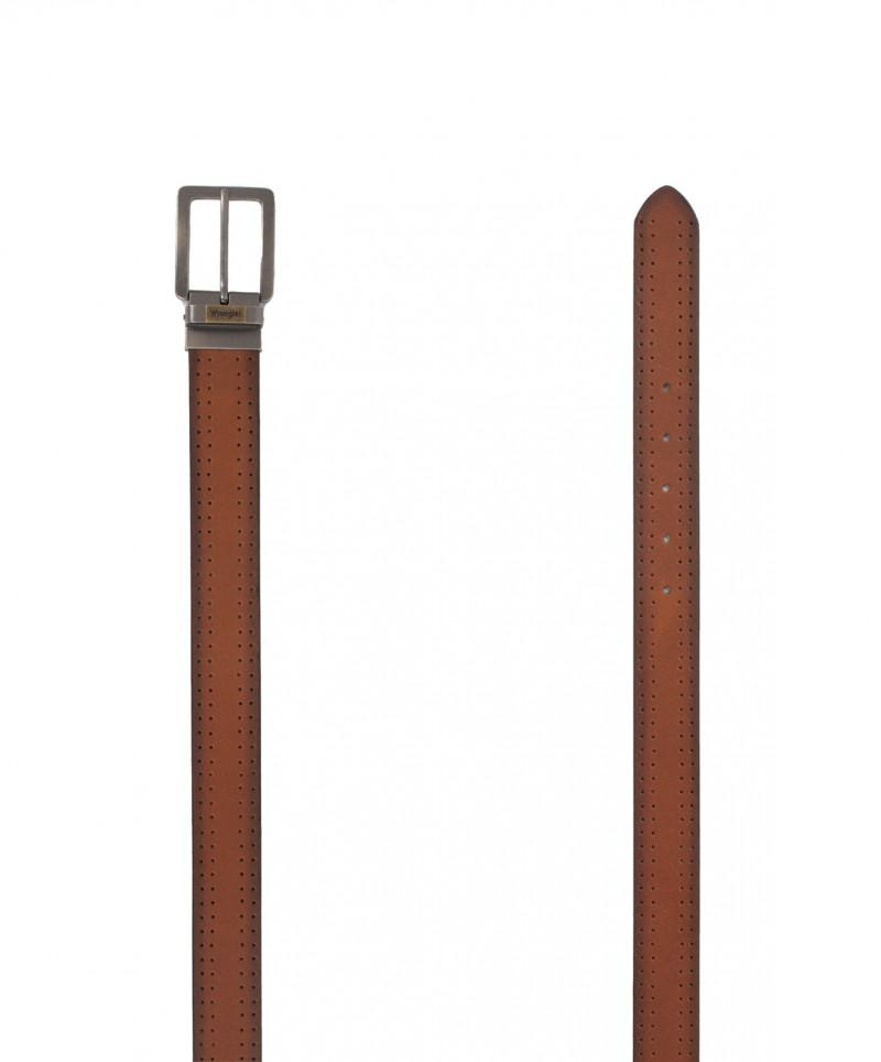 Wrangler Herrengürtel New Reversible Belt in Cognac