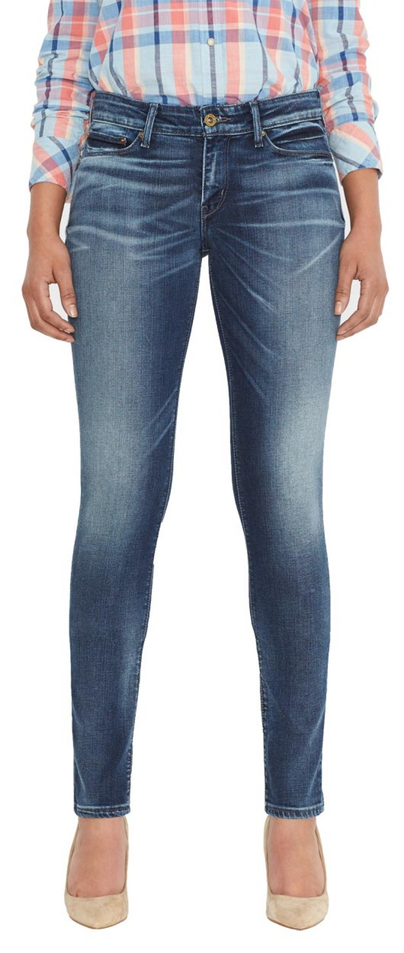 Levis Demi Curve - Skinny Jeans - Tokyo Sun