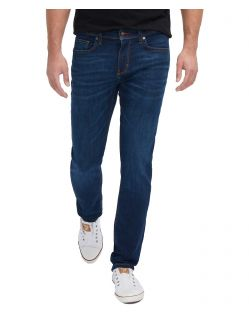 Mustang Vegas - Slim Fit Jeans in dunkelblauem Look