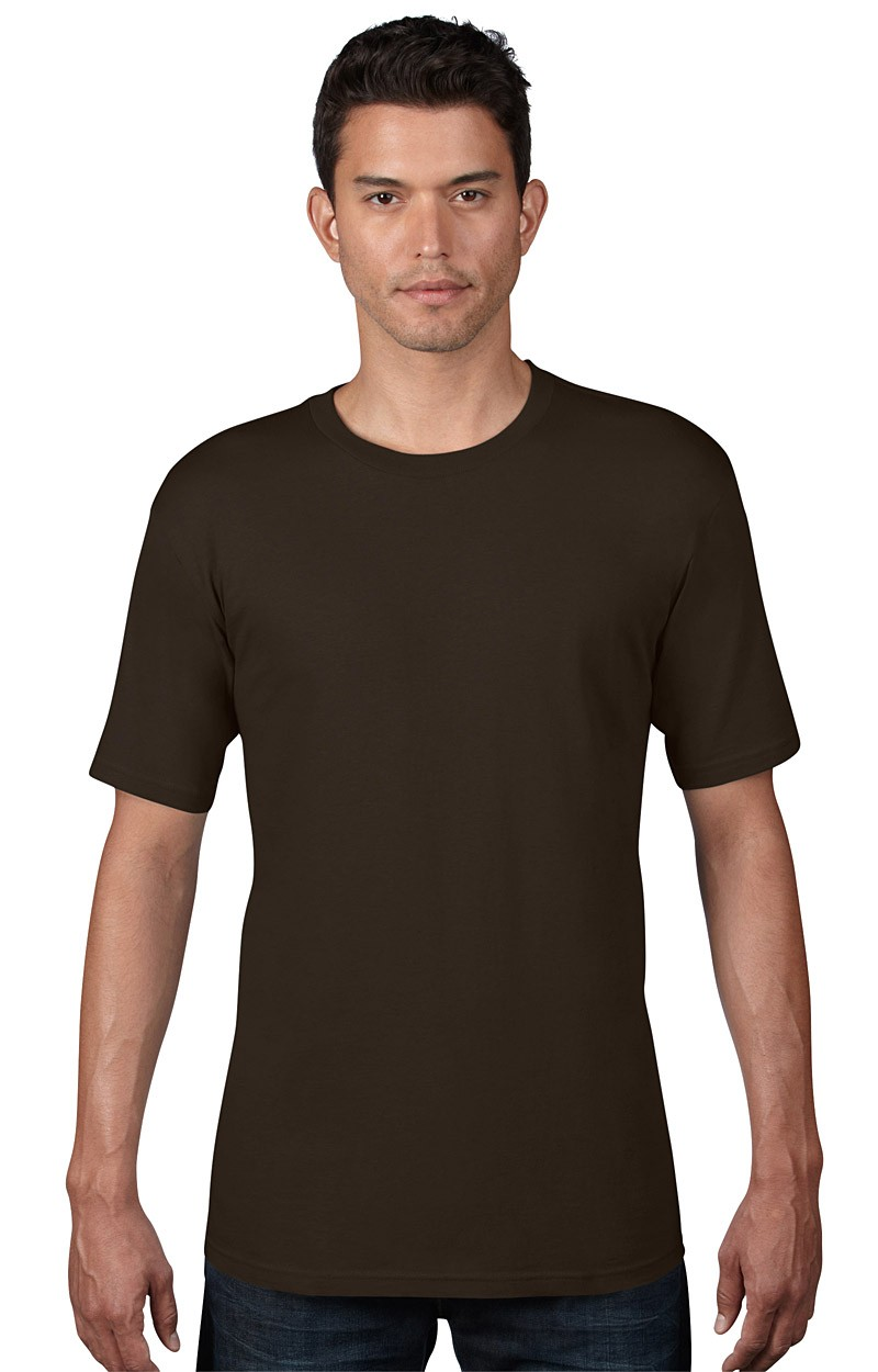 Anvil T-Shirt - Anvil Organic™ Tee - Chocolate