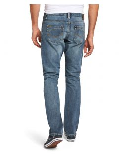 HIS STANTON Jeans - Straight Leg - Blizzard Blue - Hinten