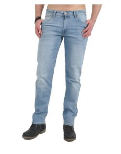 HIS STANTON Jeans - Straight Leg - Blue Blast Wash