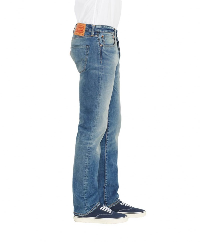 Levis 501 Jeans - Straight Leg - Homestead v