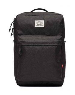Levi's - Stoffrucksack in schwarz mit Tragegriff