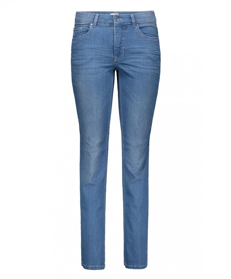 MAC MELANIE Jeans - Feminine Fit - Light Blue Authentic Wash