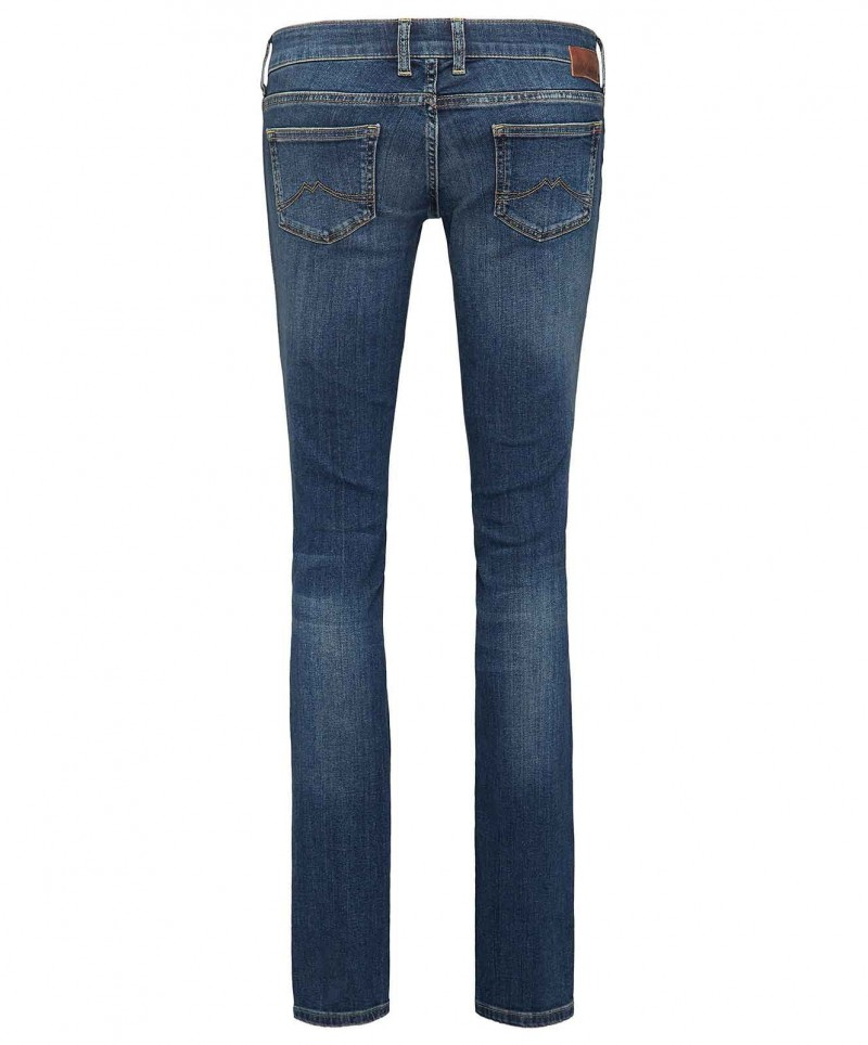 MUSTANG Gina Skinny Jeans - Slim Fit - Dark Scratched Used