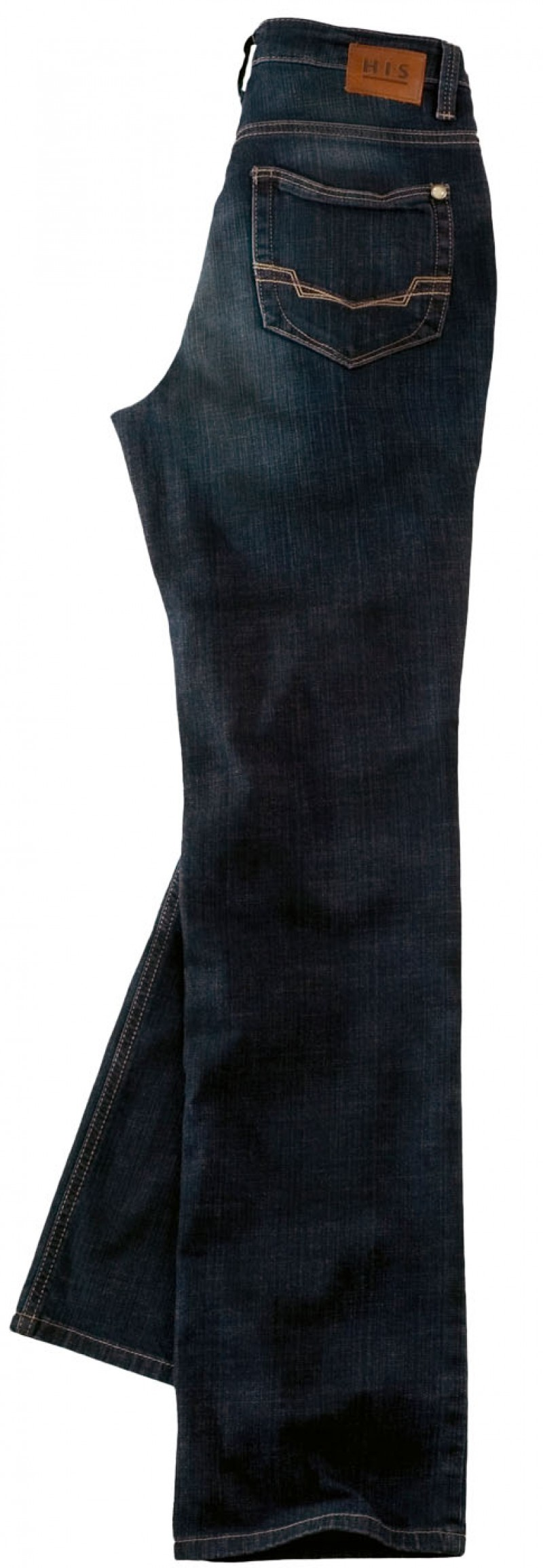 HIS Coletta Jeans - Straight Leg - Dark Tinted