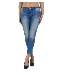 MAVI ADRIANA ANKLE - Super Skinny - True Blue Barcelona 1bdc