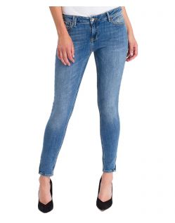 Cross Jeans Giselle - Ankle Jeans mit Zipper in heller Färbung