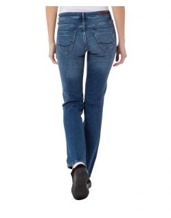 CROSS Jeans Rose - Straight Leg - Medium Blue - Hinten