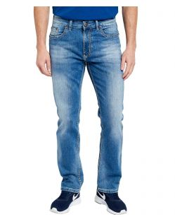 Pioneer Rando - Handcrafted Jeans in Stone Used