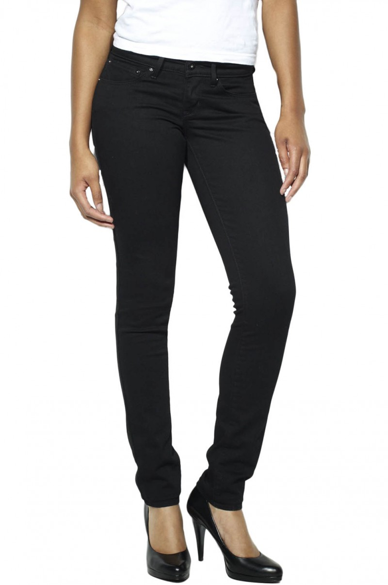 Levis Bold Curve - Skinny - Pitch Black