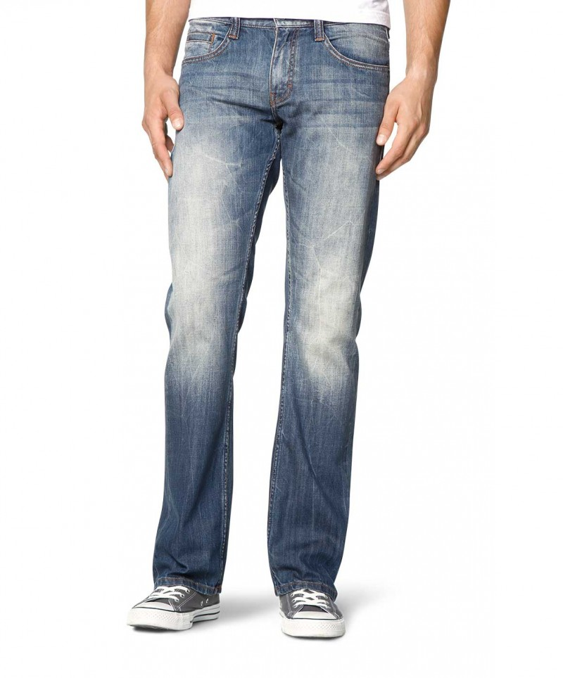 Mustang Oregon Boot Jeans - Slim Fit  - Strong Bleach