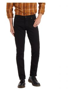 Wrangler Larston - Slim Tapered Jeans in Schwarz