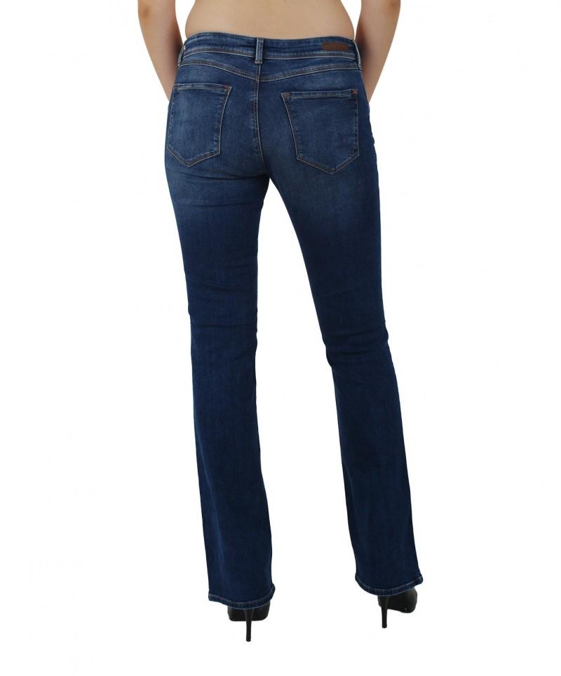 MAVI BELLA - Slim Bootcut Jeans - Dark Indigo