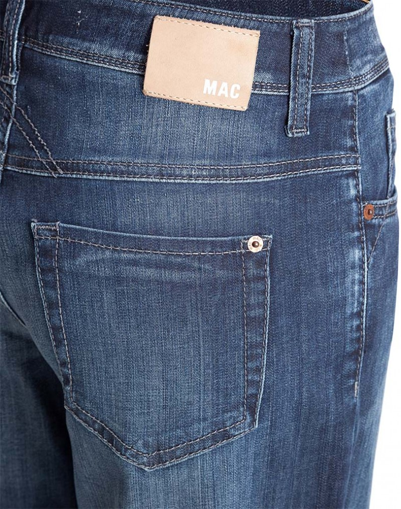 mac jeans gracia vintage dark wash