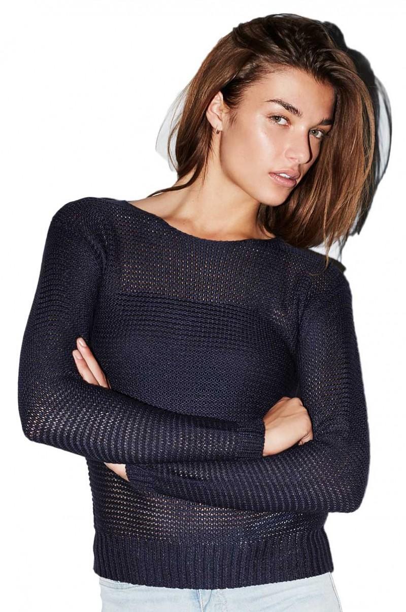 Vero Moda - Strick Pullover Sevilla - Peacoat