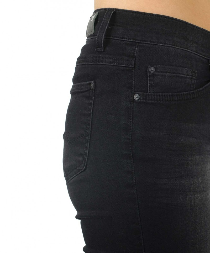 Angels Skinny Jeans - Power Stretch - Black Used Buffi