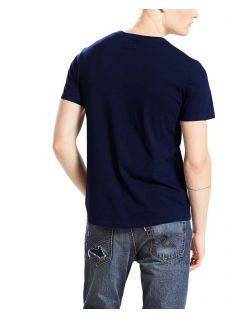 Levi's T-Shirt - Sunset Pocket - Saturated Indigo - Hinten