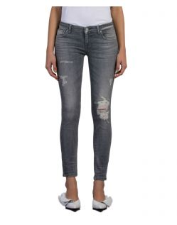 LTB Mina - Graue Ankle Jeans in Slim Fit