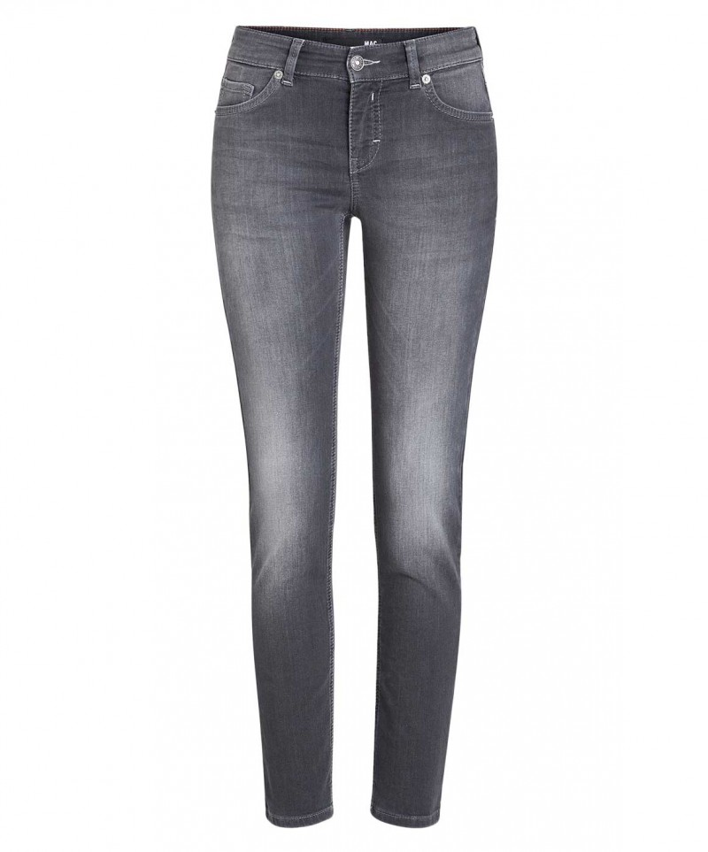 Mac Jogging Pipe Jeans - Black Authentic Wash