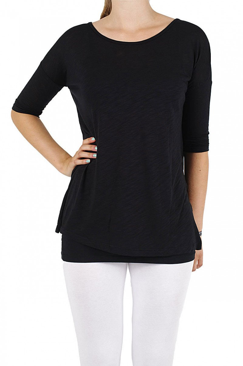 Vero Moda  - Lukas Love Top -  black