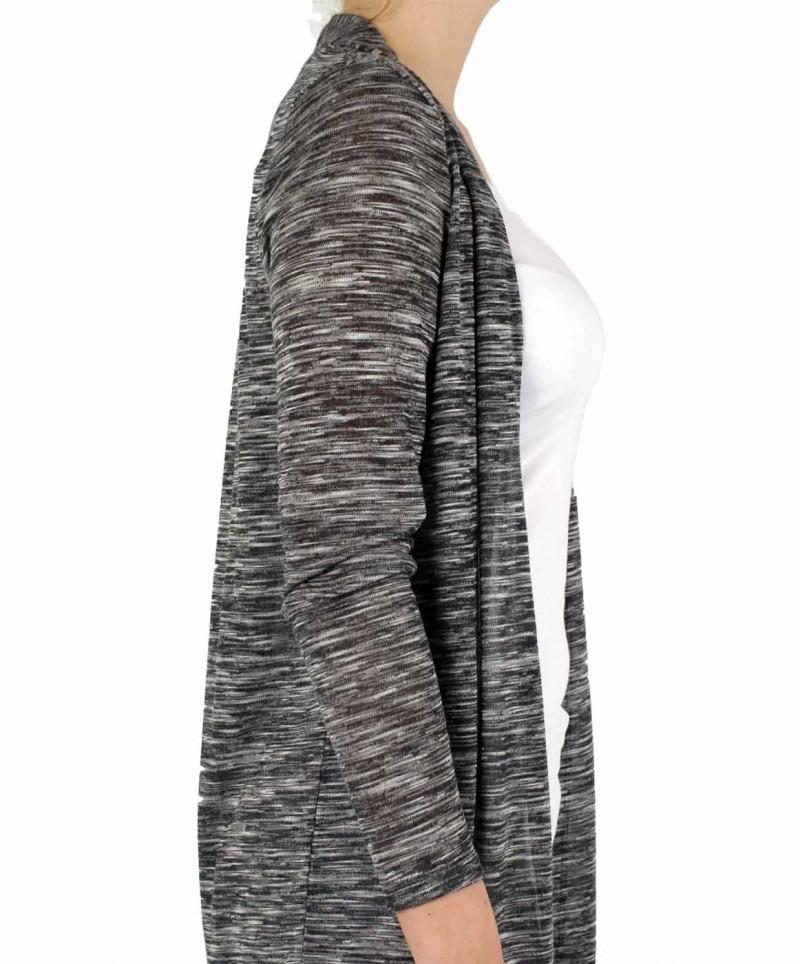 Vero Moda - ANNA ASTI - Strickjacke - Grey Melange