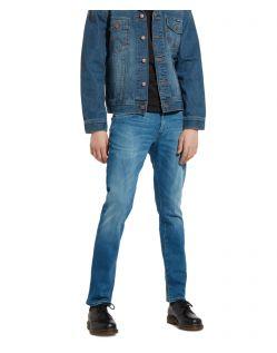 Wrangler Larston - Schmal zulaufende Jeans in Far Green