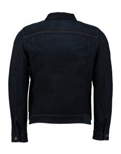 GARCIA RAUL - Herren Jeansjacke - Slim Fit - Blue Black Used - Back