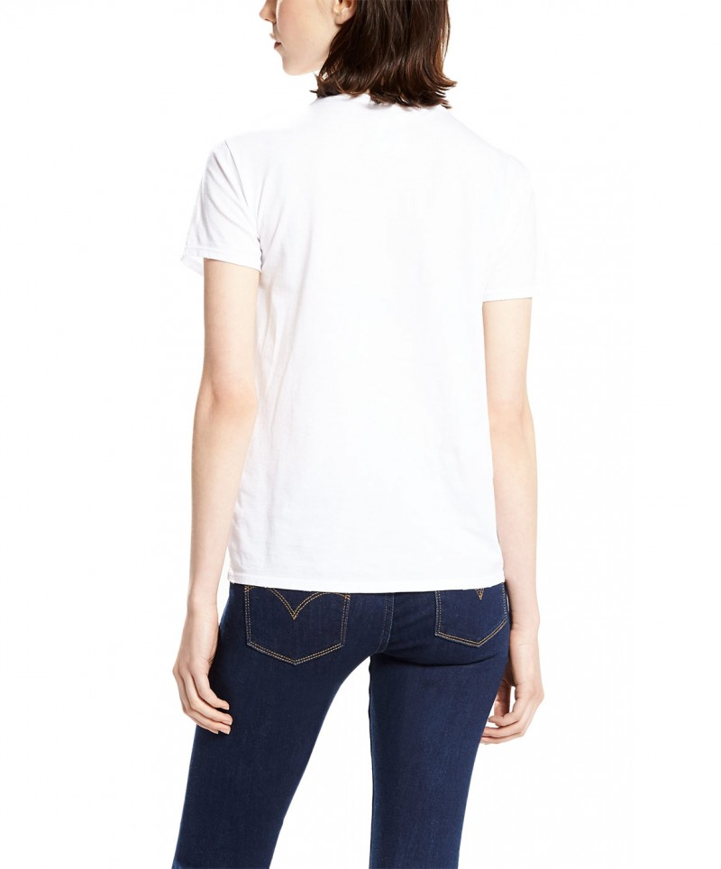 Levi's T-Shirt - The Perfect Tee - White Graphic