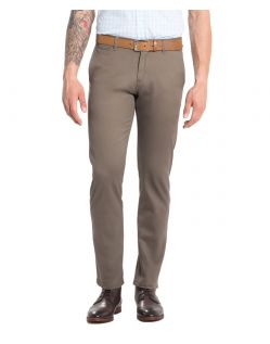 DOCKERS MARINA - Slim Tapered - Braun