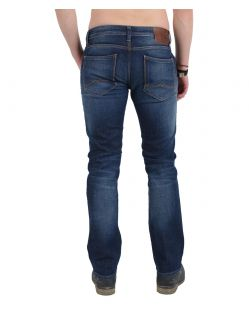 MUSTANG MICHIGAN STRAIGHT Jeans - Dark Rinse Used - Hinten