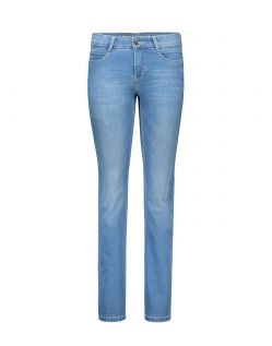 MAC DREAM Jeans - Straight Leg - Light Blue Authentic Wash