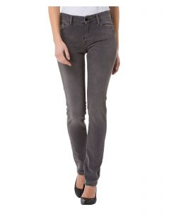 CROSS Anya - High Waisted Jeans - Grau