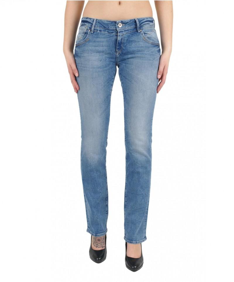 MAVI OLIVIA Jeans - Straight Leg - Lt Lunge