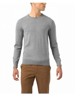 DOCKERS Crewneck Luxury - Baumwollpullover in Grau