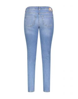 Mac Slim - Carrie Pipe Jeansform in heller Waschung - F02
