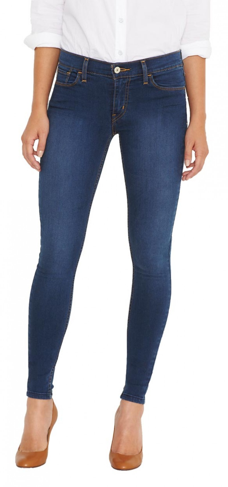 Levis Innovation Super Skinny - Blue Jay
